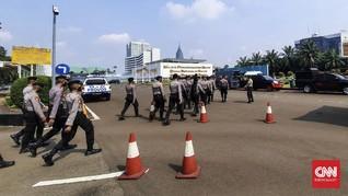 1.000 Aparat Kawal Demo FPI Cs Tolak RUU HIP di Gedung DPR
