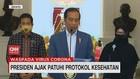 VIDEO: Presiden Ajak Patuhi Protokol Kesehatan