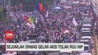 VIDEO: Sejumlah Ormas Gelar Aksi Tolak RUU HIP