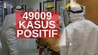 VIDEO: 49.009 Kasus Positif Covid-19 di Indonesia