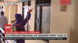 VIDEO: 2 Penghuni Rusunawa Jati Rawasari Positif Covid-19