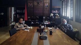Arief Poyuono Bertemu Pratikno, Minta PSBB Dilonggarkan