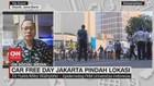 VIDEO: Car Free Day Jakarta Pindah Lokasi