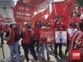 Longmarch Kader PDIP, Perintah Jaga Jarak Orator Diabaikan