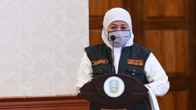 Tunjuk Plt Bupati Nganjuk, Khofifah Singgung Soal Kepercayaan
