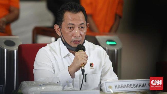 Proses penjemputan Djoko ke Malaysia langsung dipimpin Kabareskrim Komjen Listyo Sigit Prabowo.