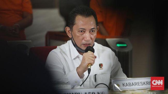 Calon Kapolri Komjen Listyo Sigit Prabowo memaparkan sejumlah program yang akan dilakukannya saat uji kepatutan di DPR.