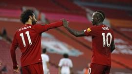 FOTO: Liverpool di Ambang Juara Liga Inggris