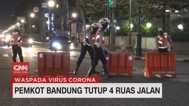 VIDEO: Pemkot Bandung Tutup 4 Ruas Jalan