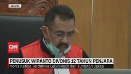 VIDEO: Penusuk Wiranto Divonis 12 Tahun Penjara