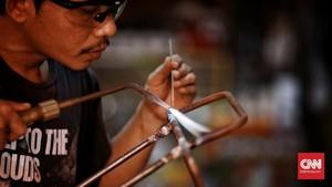 FOTO: Sepeda Kargo Siasat Genjot Ekonomi di Tengah Corona