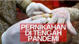 VIDEO: Simulasi Pernikahan di Tengah Pandemi