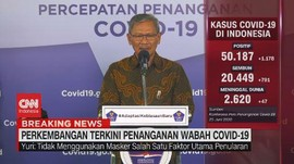 VIDEO: Update Corona 25 Juni: 50.187 Positif, 20.449 Sembuh