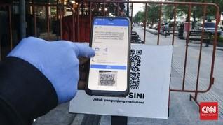 Menilik Jargon QR Code Tangkal Penularan Corona di Tiga Kota