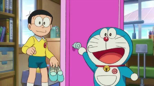 Sinema Spesial Pagi Trans TV akan menayangkan Doraemon: Great Adventure in the Antarctic Kachi Kochi bagian II pada pukul 08:30-10:00 WIB, Sabtu (8/5).