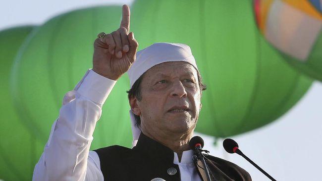Perdana Menteri Pakistan Imran Khan menyerang pemerintah nasionalis Hindu India yang memegang kendali atas Kashmir, mayoritas pemeluk Islam.