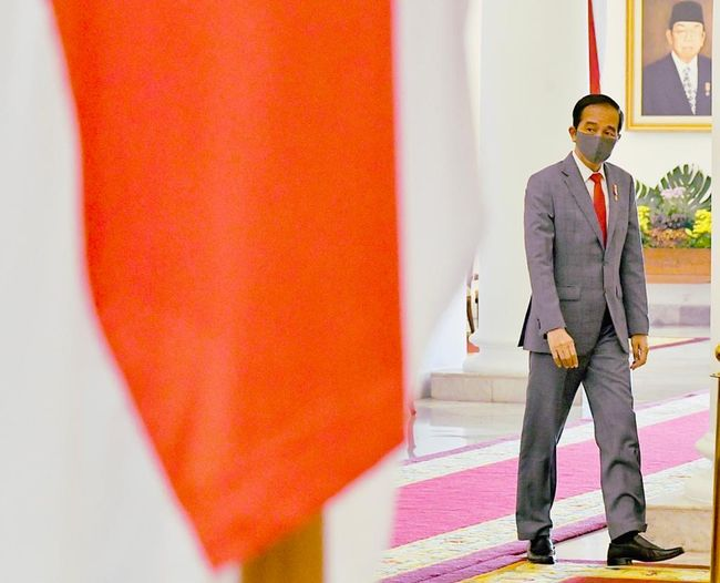 Presiden Joko Widodo mengikuti KTT ke-36 ASEAN, Jumat (26/6) / FOTO: Laily Rachev - Biro Setpres
