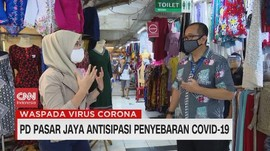 VIDEO: PD Pasar Jaya Antisipasi Penyebaran Covid-19