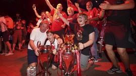 Klopp Kritik Selebrasi Juara Suporter Liverpool