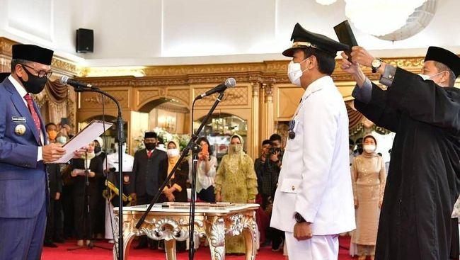 Gubernur Sulsel, Prof Nurdin Abdullah lantik Prof Rudy Djamaluddin jadi penjabat walikota Makassar