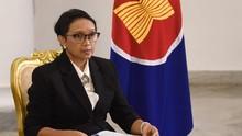 Menlu Retno Bahas Solusi Krisis Myanmar dengan AS hingga PBB