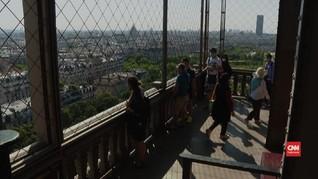 VIDEO: Menara Eiffel Kembali Ramai Turis