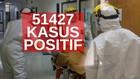 VIDEO: 51.427 Kasus Positif Covid-19 di Indonesia