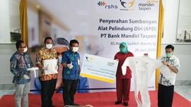 Bank Mantap Serahkan Bantuan APD Senilai Rp1 M