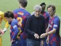 Bersaing Lawan Madrid, Pemain Barcelona Tak Pedulikan Setien