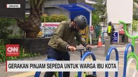 VIDEO: Gerakan Pinjam Sepeda Untuk Warga Ibu Kota