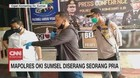 VIDEO: Mapolres Oki Sumsel Diserang Seorang Pria