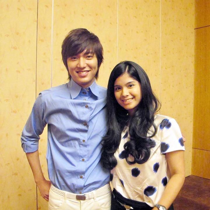 Annisa Pohan dan Lee Min Ho