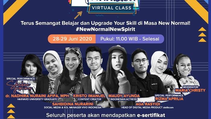 Dukung Spirit Inovasi New Normal, dYouthizen Virtual Class Hadir Lagi!