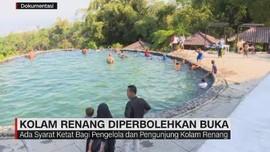 VIDEO: Kolam Renang Diperbolehkan Buka
