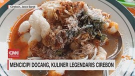 VIDEO: Mencicipi Docang, Kuliner Legendaris Cirebon