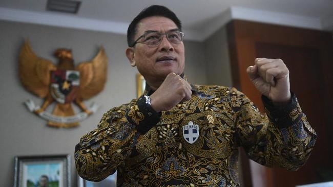 Istana soal Airlangga Covid: Menteri Cukup Beberapa yang Tahu
