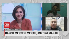 VIDEO: Rapor Menteri Merah, Jokowi Marah