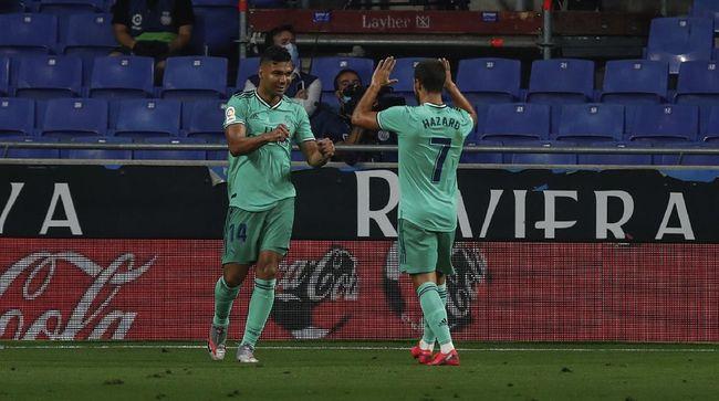 Dua bintang Real Madrid Casemiro dan Eden Hazard dinyatakan positif terinfeksi Covid-19 usai menjalani tes pada Jumat (6/11) pagi waktu setempat.
