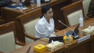 Sri Mulyani Serahkan RUU Pertanggungjawaban APBN 2019 ke DPR