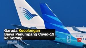 VIDEO: Kronologi Garuda Kecolongan Bawa Penumpang Covid-19