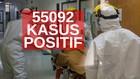 VIDEO: 55.092 Kasus Positif Covid-19 di Indonesia