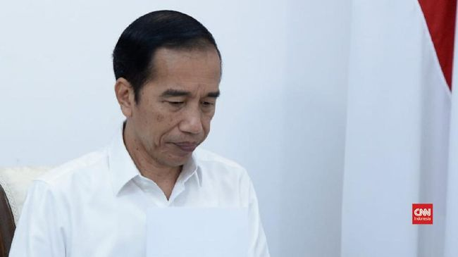 Thumbnail video jokowi marah