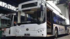 Bermasalah, Tes Bus Listrik Transjakarta Merek China Ditunda