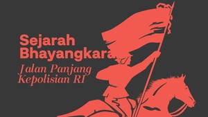 INFOGRAFIS: Sejarah Bhayangkara, Jalan Panjang Kepolisian RI