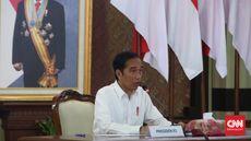 Jokowi Sebut Ekonomi RI Bisa Minus 17 Persen kalau Lockdown