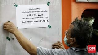 Pergub Anies soal Larangan Kantong Plastik Berlaku Hari Ini