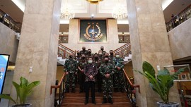 Jaksa Agung dan KSAL Sepakat Tingkatkan Koordinasi Kelautan