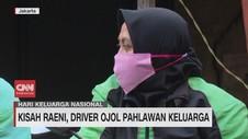 VIDEO: Kisah Raeni, Driver Ojol Pahlawan Keluarga