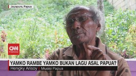 VIDEO: Lagu Yamko Rambe Yamko Diduga Bukan Asal Papua