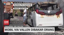 VIDEO: Mobil Via Vallen Dibakar Orang